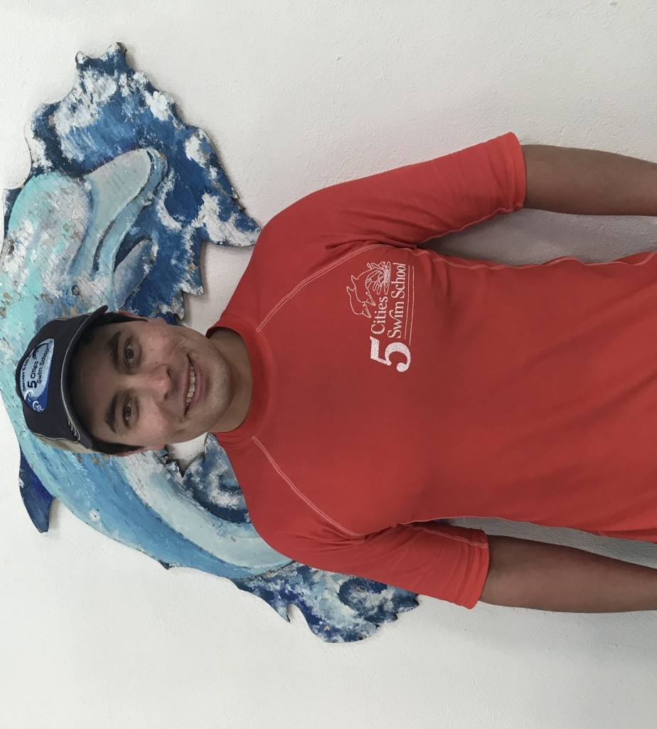 Premium Swim Instructor David: HELLO, My name is David Aldana and I am the manager here at the swim school. Safety is priority! With a background in firefighting and EMT training, I love educating the public on safety. Helping the community become water safe is my goal. I CAN'T WAIT TO SEE YOU IN THE WATER!